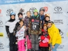 participates in The 2018 Toyota Supergirl Snow Pro Sponsored by Toyota on March 17, 2018 in Big Bear, California.